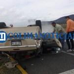 Volcadura sobre la autopista Guadalajara Colima. - Volcadura sobre la autopista Guadalajara-Colima - #Noticias