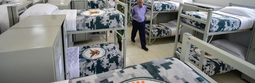 cuarteles guardia nacional - AMLO presume coordinación con Alfaro en materia de seguridad - #Noticias