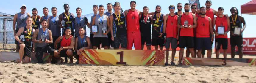 premiacion 2da copa balonmano - Premiación de 2da Copa de Balonmano de Playa - #Noticias