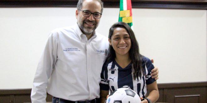 JIPS Diana 2 660x330 - Gobernador recibe a la colimense Diana Evangelista – Archivo Digital Colima - #Noticias