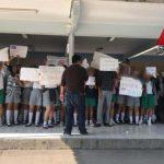 WhatsApp Image 2020 03 11 at 11.11.29 AM 660x330 - Manifestación de alumnos en secundaria de Colima; piden destitución de profesor por acoso – Archivo Digital Colima - #Noticias