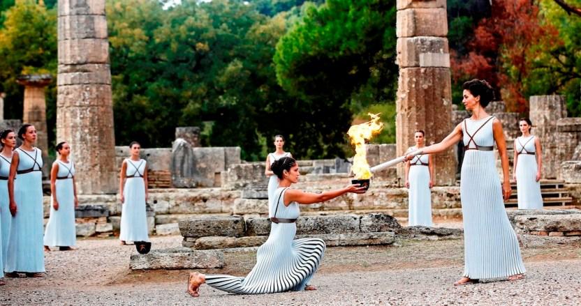 antorcha - El encendido de la llama olímpica en Grecia se realizará sin público debido al coronavirus - #Noticias