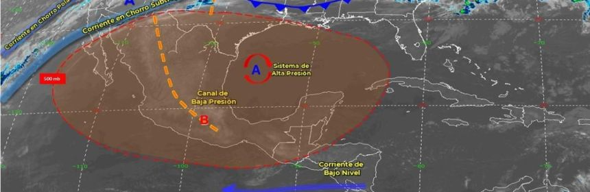 clima 25 03 crop1585140138679.jpg 673822677 - Pronóstico del clima de hoy: Onda de calor cubrirá parte de México