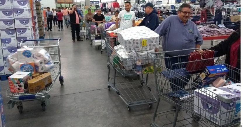 compras de panico sams 1047308.jpg 673822677 - Descartan desabasto en Jalisco | EL DEBATE