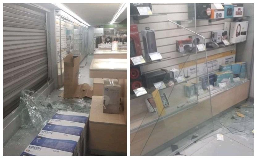 ecatepec robo - Detienen a tres adolescentes por robar la tienda Coppel de Ecatepec
