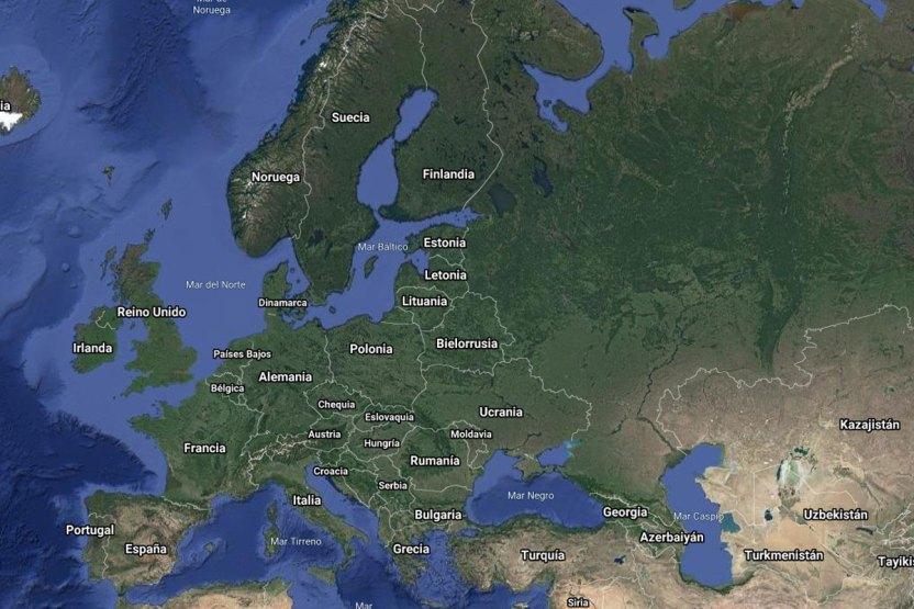europa mapa - Europa es ahora el epicentro de la pandemia del COVID-19 - #Noticias