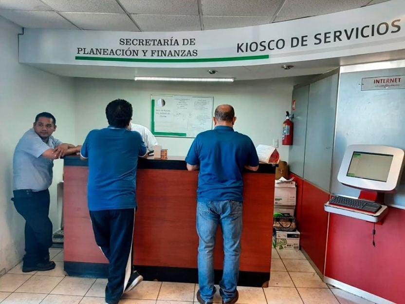 kiosco servicio - Funcionarán seis Kioscos y tres receptorías de renta
