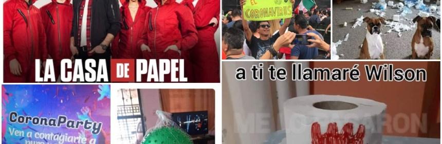 memes - Usuarios tapizan de memes las redes por el COVID-19: desde las playas mexicanas hasta el papel higiénico