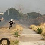 Bomberos pincipal 660x330 - Incendio en predio con pastizal en Residencial Victoria – Archivo Digital Colima