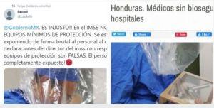 Calderón - Calderón comparte foto falsa, en redes lo desmienten