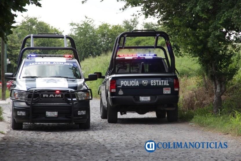 Policía estatal asegura armas y equipo táctico en Tecomán - Policía estatal asegura armas y equipo táctico en Tecomán