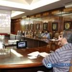 Rector participa en runión virtual Pie de foto - Participa Hernández Nava en reunión virtual convocada por la ANUIES