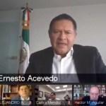 ernesto acevedo crisis economica cce coronavirus - La duración y dimensión de la crisis económica del COVID-19 es inédita, asegura Ernesto Acevedo