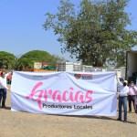 productores campo donan - Gobernador recibe 50 toneladas de fruta de productores colimenses