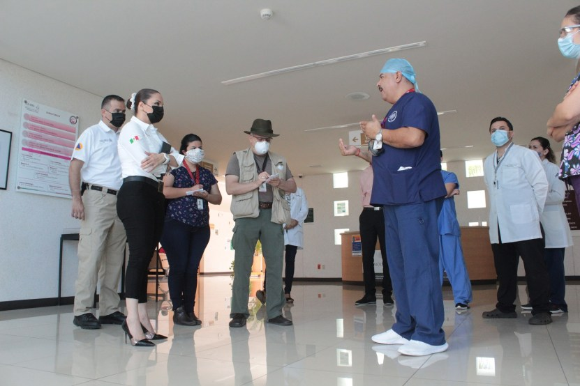 salud avance reconversion hospitalaria 02 - Se avanza en reconversión hospitalaria por COVID-19: Salud Colima