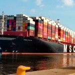 barco carga buque contenedores - Harán sonar sirenas de barco al mediodía de este 1 de mayo