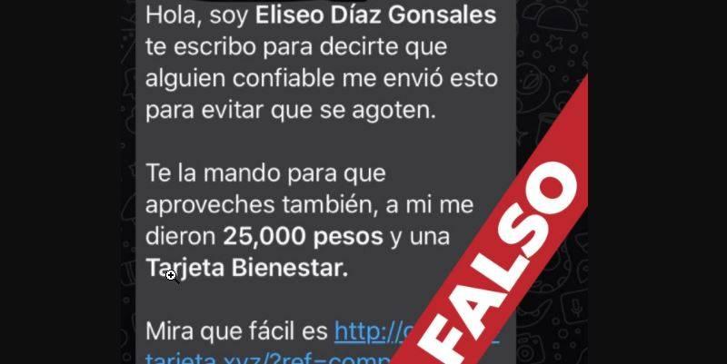 bienestar mensajes falsos  - Bienestar alerta de posible fraude a través de mensaje falso