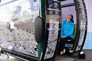 cable - CDMX: Líneas 1 y 2 del Cablebús llevan avance de hasta el 70%