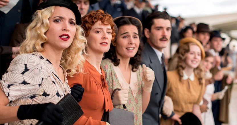 lachicas del cables - Netflix anuncia la fecha de estreno de la segunda parte temporada final de Las chicas del cable