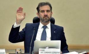 lorenzo cordova ine covid19 - El INE indaga a funcionarios públicos que lucran con la emergencia de covid-19