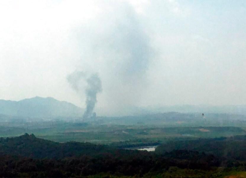 Corea Norte - Norcorea destruye oficina de enlace con Corea del Sur