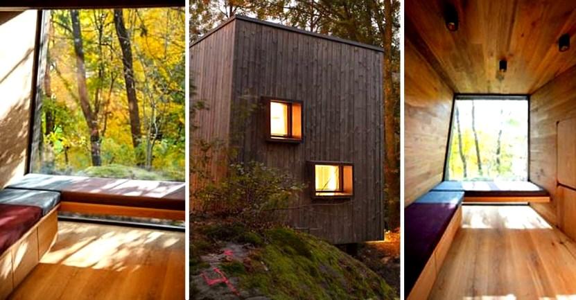 hospitales noruega  - Hospitales de Noruega instalan cabañas al aire libre para sanar pacientes con ayuda de la naturaleza