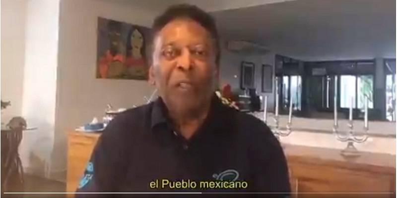 pele.jpgfit800400ssl1 - Pelé manda video, agradece a México, son 50 años del mundial 1970