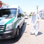 sanitizan unidades de transporte en el fuerte 2 crop1593461173413.jpg 673822677 - Sanitizan vehículos de transporte público en El Fuerte