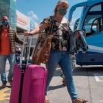 turistas alemanes - Turistas alemanes aterrizan en territorio español después de tres meses de cierres fronterizos por COVID-19