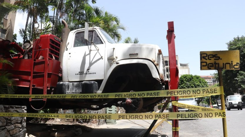 """113359514 img 3864 - Qué hay detrás de la """"fiebre"""" por excavar pozos en los edificios residenciales de Caracas"""