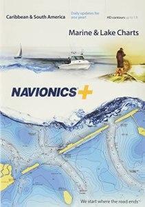 Navionics MSD/Nav+3XG Caribbean & S. America - Gráfico náutico en Tarjeta SD/Micro-SD, Color Beige