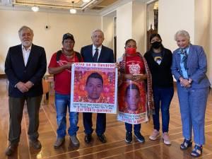 WhatsApp Image 2020 07 10 at 18.29.56 - López Obrador se reúne con los padres de los 43 desaparecidos de Ayotzinapa