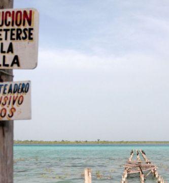 bacalar1 - Investigador alerta sobre daños a la Laguna de Bacalar, en QRoo, por turismo desordenado