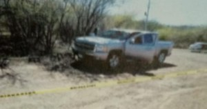 camioneta crop1594529582621.jpg 673822677 - Matan a joven de machetazo en la cabeza en Concordia, Sinaloa