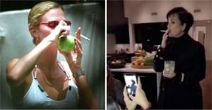 celebs marihuana - 10 mamás famosas que fuman marihuana y no temen admitirlo. Kris Jenner lo hizo al lado de sus hijas