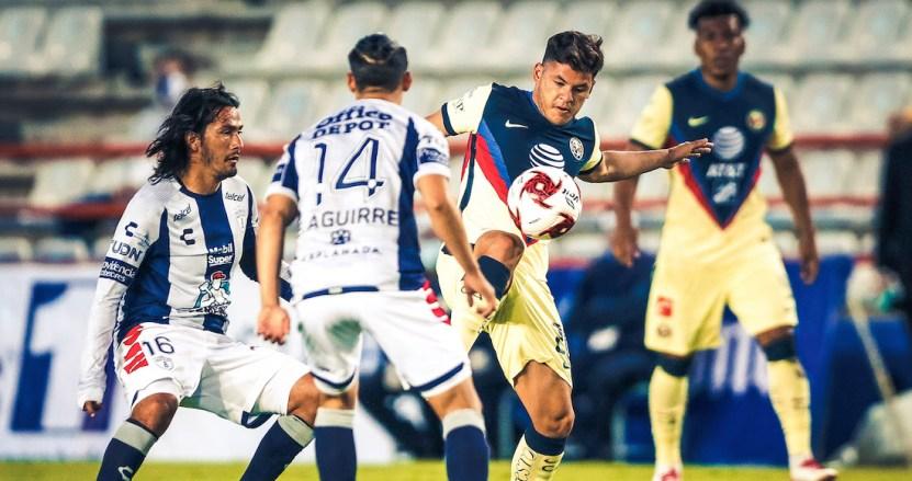 ed ns5uwsawywps - América derrota 2-1 al Pachuca con goles del uruguayo Federico Viñas y de Sebastián Córdova