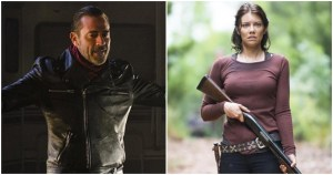 negan final maggie - En el final original de The Walking Dead Negan moría a manos de Maggie, revela su creador
