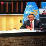 oms tedros 1024x768 - OMS: la mayor amenaza no es el virus en sí, sino la falta de solidaridad global
