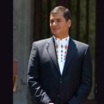 rafael correa - Correa confirma su candidatura a la vicepresidencia de Ecuador