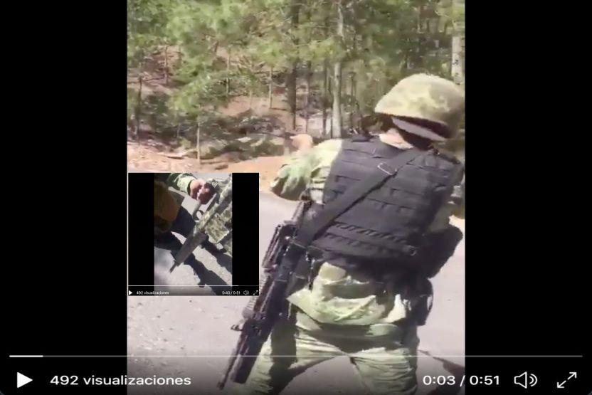 VIDEO  Brazo armado del Cártel de Sinaloa muestra las poderosas armas que posee - VIDEO: Brazo armado del Cártel de Sinaloa muestra las poderosas armas que posee