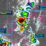 a 5984 temp1 - Activan Alerta Amarilla en Campeche, Yucatán y Quintana Roo por tormenta tropical 'Marco'