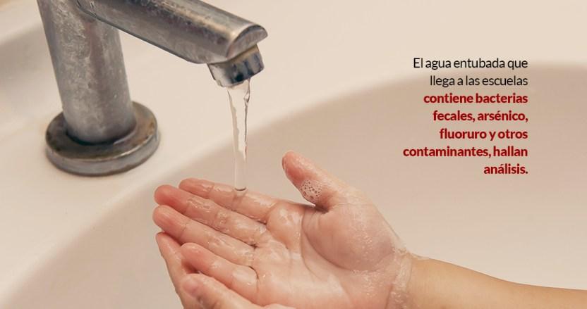 aguaescul - El agua entubada en escuelas de 28 estados llega con bacterias fecales, exhiben miles de análisis