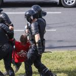 bielorrusia detenidos - Más de mil personas son detenidas en Bielorrusia durante protestas por los resultados electorales