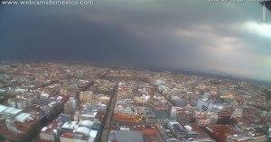lluvias - El AICM frena actividades por fuerte viento en CdMx; activan Alerta Amarilla por tromba en 11 alcaldías