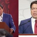 """morena - La detención de """"El Marro"""" es el principio de la pacificación del país, dicen Monreal y Delgado"""