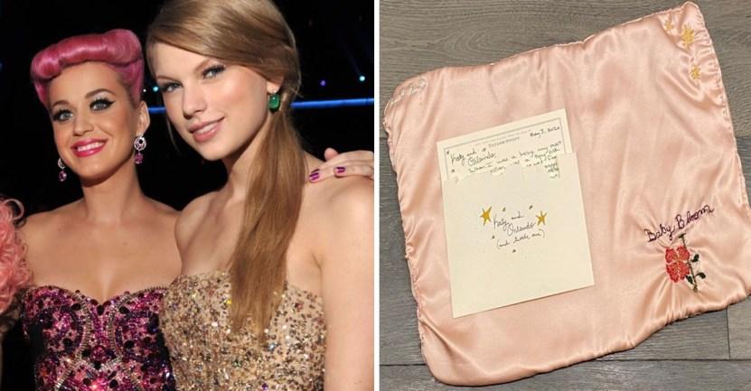 Fondo Katy Perry Taylor Swift - Katy Perry recibió el regalo más bello y considerado de Taylor Swift. Tejido a mano para su bebita
