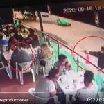 VIDEO Captan momento en que sicario asesina a hombre que comia en restaurante - VIDEO: Captan momento en que sicario asesina a hombre que comía en restaurante