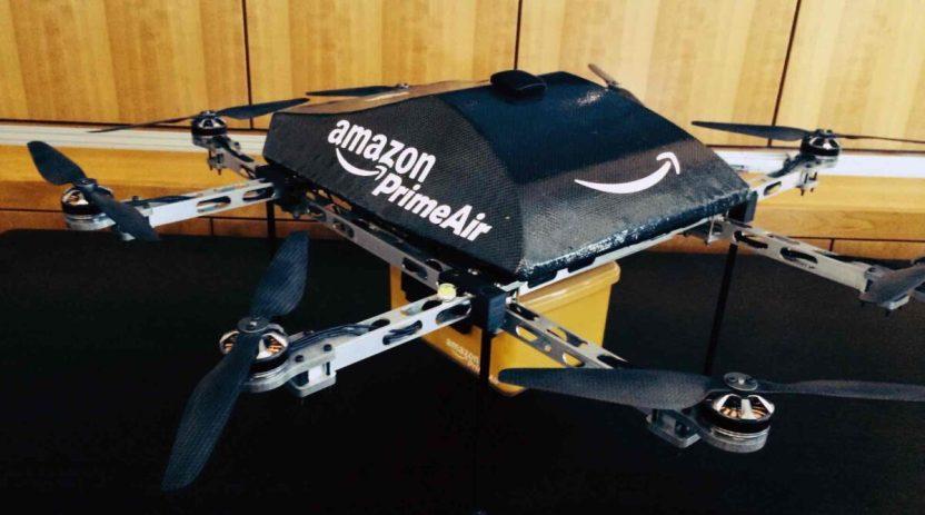 amazon drones e1598936492701 - Amazon recibe aval para entregar pedidos por medio de drones