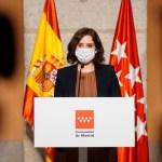 ayuso - Madrid anuncia nuevas restricciones para contener al coronavirus