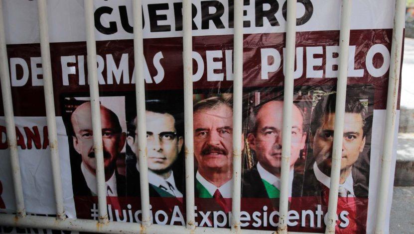 consulta juicio expresidentes elisur - Consulta popular, la actuación del Ministerio Público y de los jueces